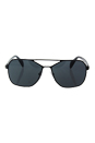 Prada SPR 54R 7AX-1A1 - Grey/Black by Prada for Men - 60-15-140 mm Sunglasses