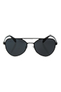 Prada SPR 55R 7AX-1A1 - Black/Grey by Prada for Men - 58-18-140 mm Sunglasses