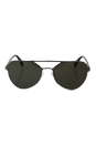 Prada SPR 55R 75S-4J1 - Gunmetal/Dark Green by Prada for Men - 58-18-140 mm Sunglasses