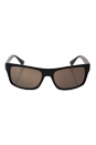 Prada SPR 18P TFD-4SO - Matte Brown/Dark Brown by Prada for Men - 56-18-140 mm Sunglasses