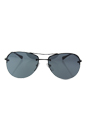Prada SPS 50R 7AX-5L0 - Black/Light Grey Black by Prada for Men - 59-14-135 mm Sunglasses