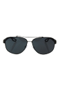 Prada SPS 58Q UAE-1A1 - Brown Rubber/Grey by Prada for Men - 60-12-140 mm Sunglasses