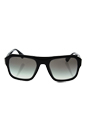 Prada SPR 02S 1AB-0A7 - Black/Grey by Prada for Men - 55-21-140 mm Sunglasses