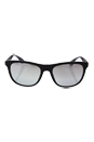 Prada SPR 04S TKM-1A0 - Matte Grey/Light Grey Gradient by Prada for Men - 57-19-145 mm Sunglasses