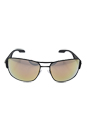 Prada SPS 53N TIG-2D2 - Grey Rubber/Green by Prada for Men - 65-16-130 mm Sunglasses