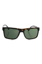 Prada SPR 01S 2AU-0B2 - Tortoise/Crystal Green by Prada for Men - 57-18-145 mm Sunglasses