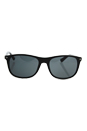 Prada SPR 01R 1AB-1A1 - Black/Grey by Prada for Men - 57-19-145 mm Sunglasses