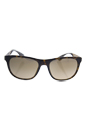 Prada SPR 04S HAQ-4O2 - Matte Havana/Brown Grandient by Prada for Men - 57-19-145 mm Sunglasses