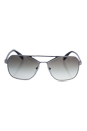 Prada SPR 54R 7CQ-0A7 - Matte Gunmental/Grey Grandient by Prada for Men - 60-15-140 mm Sunglasses