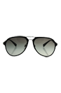 Prada SPS 05R DG0-0A7 - Black Rubber/Grey Gradient by Prada for Men - 58-17-135 mm Sunglasses