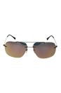 Prada SPS 55P ROU-2D2 - Matte Grey/Rose Gold by Prada for Men - 63-14-140 mm Sunglasses