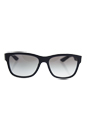 Prada SPS 03Q DG0-0A7 - Black Rubber/Grey Gradient by Prada for Men - 57-17-145 mm Sunglasses