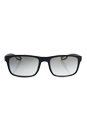 Prada SPS 03R DG0-0A7 - Black Rubber/Grey Gradient by Prada for Men - 56-19-140 mm Sunglasses
