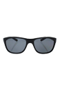 Prada SPS 05P 1B0-5Z1 - Matte Black/Grey Polarized by Prada for Men - 58-18-140 mm Sunglasses