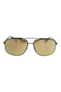 Prada SPS 56R UFI-5N2 - Green Rubber/Dark Brown Gold Polarized by Prada for Men - 60-14-140 mm Sunglasses