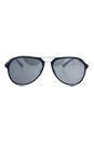 Prada SPS 05R TFY-7W1 - Blue Rubber/Grey Silver by Prada for Men - 58-17-135 mm Sunglasses