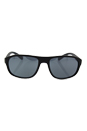 Prada SPS 01R TFZ-5L0 - Grey Rubber/Light Grey by Prada for Men - 58-18-135 mm Sunglasses