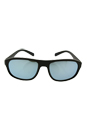 Prada SPS 01R UBW-5K2 - Green Rubber/Silver by Prada for Men - 58-18-135 mm Sunglasses