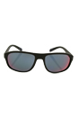 Prada SPS 01R UBW-9Q1 - Green Rubber/Grey Red by Prada for Men - 58-18-135 mm Sunglasses