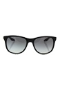 Prada SPS 03O 1BO-3M1 - Black/Grey by Prada for Men - 55-18-140 mm Sunglasses