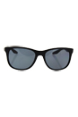 Prada SPS 03O DG0-5Z1 - Black Rubber/Grey Polarized by Prada for Men - 55-18-140 mm Sunglasses