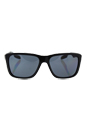 Prada SPS 04O 1AB-5Z1 - Black/Grey Polarized by Prada for Men - 58-16-140 mm Sunglasses