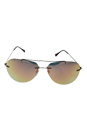 Prada SPS 50P ROU-2D2 - Cocoa Demi Shiny/Rose Gold by Prada for Men - 60-13-140 mm Sunglasses