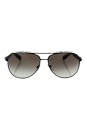 Prada SPS 51O DG0-0A7 - Black Rubber/Grey Grandient by Prada for Men - 62-14-135 mm Sunglasses
