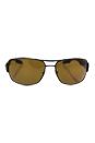 Prada SPS 53N UEA-5Y1 - Brown/Brown Polarized by Prada for Men - 65-16-130 mm Sunglasses