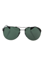 Prada SPS 56M 7AX-3O1 - Black/Grey Green by Prada for Men - 62-14-130 mm Sunglasses