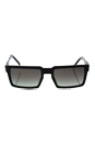 Prada SPR 03S 1AB-0A7 - Black/Grey Gradient by Prada for Men - 54-19-145 mm Sunglasses