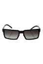 Prada SPR 03S UEK-0A7 - Grey Black Marble/Gradient by Prada for Men - 54-19-145 mm Sunglasses