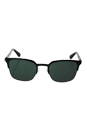 Prada SPR 61S 1AB-3O1 - Black Gunmetal/Grey Green by Prada for Men - 52-21-140 mm Sunglasses