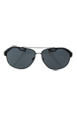 Prada SPS 58Q UAE-1A1 - Brown Rubber/Grey Gradient by Prada for Men - 63-12-140 mm Sunglasses