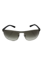 Prada SPS 54Q DG1-0A7 - Gunmetal Rubber-Steel Rubber/Grey Gradient by Prada for Men - 63-17-130 mm Sunglasses