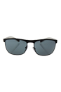 Prada SPS 54Q TIG-3C2 - Grey Rubber/Dark Grey by Prada for Men - 63-17-130 mm Sunglasses
