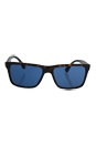 Prada SPR 19S HAQ-5P2 - Matte Havana/Blue by Prada for Men - 59-17-145 mm Sunglasses