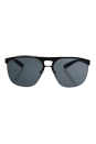 Prada SPS 53Q DG0-1A1 - Black Rubber/Grey by Prada for Men - 34-00-140 mm Sunglasses