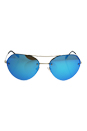 Prada SPS 57R ZVN-5M2 - Pale Gold/Light Green Blue by Prada for Men - 59-16-135 mm Sunglasses
