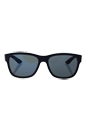 Prada SPS 03Q UBX-9Q1 - Shot Grey Rubber/Dark Grey Blue Red by Prada for Men - 57-17-145 mm Sunglasses