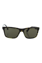 Prada SPR 19S LAB-4J1 - Green/Green by Prada for Men - 59-17-145 mm Sunglasses
