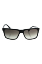 Prada SPR 19S 1AB-0A7 - Black/Grey by Prada for Men - 59-17-145 mm Sunglasses