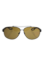 Prada SPS 58Q DG0-5Y1 - Black Matte/Brown Polarized by Prada for Men - 63-12-140 mm Sunglasses