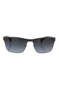 Prada SPR 51O DHG-5W1 - Grey/Black Gradient Polarized by Prada for Men - 58-17-140 mm Sunglasses