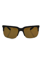 Dolce & Gabbana DG 6097 3016/83 - Brown Rubber/Brown Polarized by Dolce & Gabbana for Men - 58-19-145 mm Sunglasses