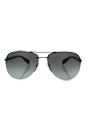 Prada SPS 56M 5AV-3M1 - Gunmetal/Grey Gradient by Prada for Men - 65-14-130 mm Sunglasses