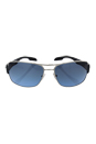 Prada SPS 53N 1BC-5I1 - Silver/Grey Blue Gradient by Prada for Men - 65-16-130 mm Sunglasses