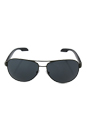 Prada SPS 53P ROV-1A1 - Military Green Demi Shiny/Grey Gradient by Prada for Men - 62-14-135 mm Sunglasses