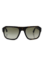 Prada SPR 02S 2AU-4M1 - Havana/Green Grey Gradient by Prada for Men - 55-21-140 mm Sunglasses