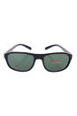 Prada SPS 01R 1AB-3O1 - Black/Grey Green by Prada for Men - 58-18-135 mm Sunglasses